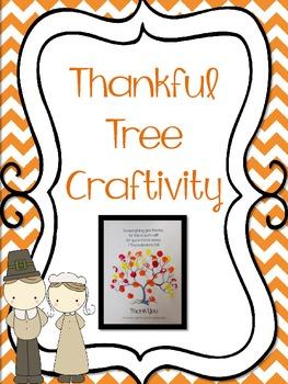Thanksgiving Tree Craftivity