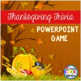 Thanksgiving Trivia PowerPoint Game