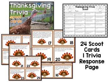 Thanksgiving Trivia Scoot