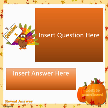 thanksgiving trivia template (powerpoint)handy teaching tools, Modern powerpoint