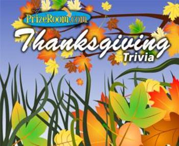 Thanksgiving Trivia/Jeopardy Game to Test Your Knowledge
