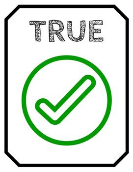 Thanksgiving True/False