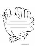 Thanksgiving Turkey Activity