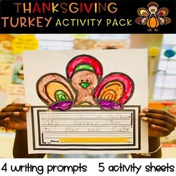 Thanksgiving Turkey Activity Pack