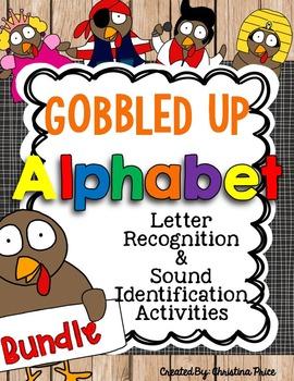 Thanksgiving Turkey Alphabet Bundle