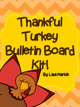 Thanksgiving Turkey Bulletin Board Kit