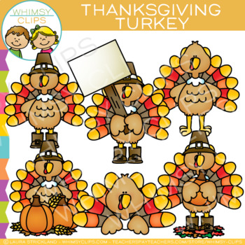 Turkey Thanksgiving Clip Art