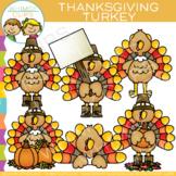 Turkey Clip Art {Thanksgiving Clip Art}