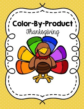 Thanksgiving Turkey Color By Product Picture