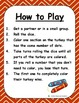 Thanksgiving Turkey Color Racing Game