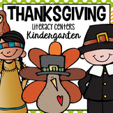 Thanksgiving Literacy Centers for Kindergarten (CCSS)