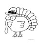Thanksgiving Turkey Coloring for Calculus Derivatives
