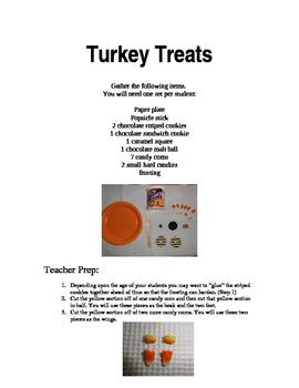 Thanksgiving Turkey Cookie Treats