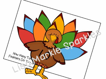 Thanksgiving Turkey Counting Activity