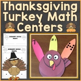 Thanksgiving Turkey Counting, Number Sequencing Math Cente