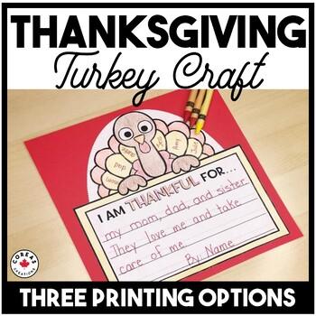 Turkey Writing Craft