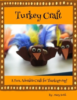 Thanksgiving Turkey Craft:  How to Make an Egg Carton Turkey