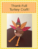 Thanksgiving Turkey Craft (I Am Thank-Full!)