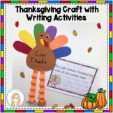 Thanksgiving Turkey Craft and Writing Activities