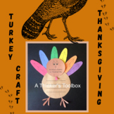 Thanksgiving Turkey Craft with Writing Prompt