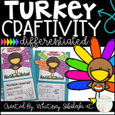 Thanksgiving Turkey Math Craft- Differentiated
