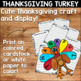 Thanksgiving Turkey Writing
