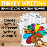 Thanksgiving Turkey Craft - Thanksgiving Writing Prompts