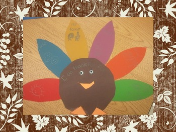 Thanksgiving Turkey Craftivity for ALL Subjects