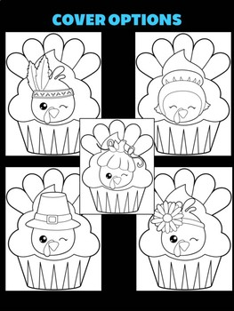 Thanksgiving Turkey Cupcakes - Jackie's Craft Activity, Writing, Activities