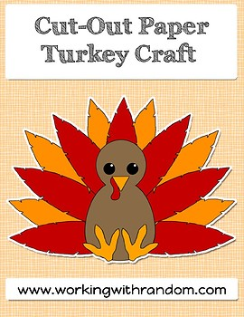 Thanksgiving Turkey Cut Out Template