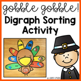 Thanksgiving Turkey Digraph Sort Activity ch sh th wh