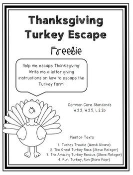 Thanksgiving Turkey Escape