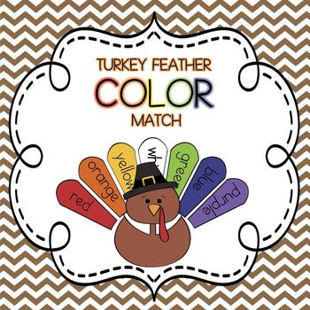 Thanksgiving Turkey Feather Color Match