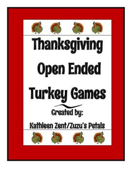 Thanksgiving Turkey Feather Games