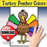 Thanksgiving Turkey Feathers Activity FREE