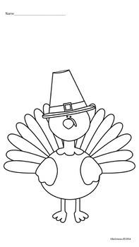 Thanksgiving Turkey Following Directions Freebie