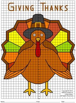 Turkey Mystery Picture (4-Quadrants)