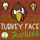 Thanksgiving Turkey Fractions Activity
