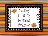 Thanksgiving Turkey Freebie