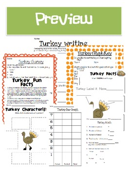 Thanksgiving Turkey Fun Glyph