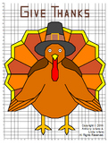 Thanksgiving Turkey Mystery Picture : Distance Learning