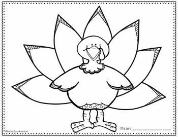 Thanksgiving Turkey Glyph