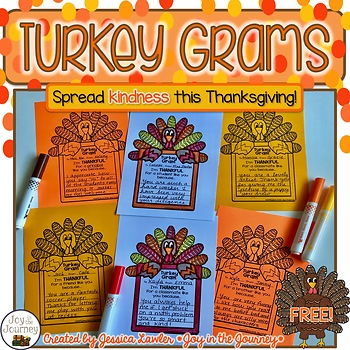 Thanksgiving Turkey Grams FREE