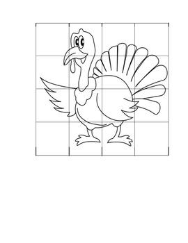 Thanksgiving Turkey Graph Art