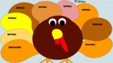 Thanksgiving Turkey Graphic Organizer for Google Classroom