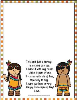 Thanksgiving Turkey Handprints