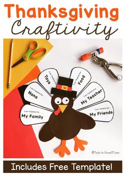 Thanksgiving Turkey Handwriting Craft