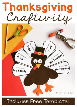 Thanksgiving Turkey Handwriting Craft