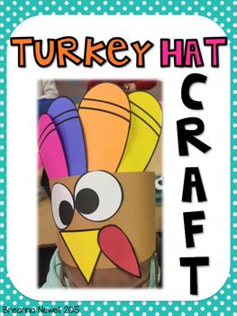 Thanksgiving Turkey Hat Craft *FREEBIE*