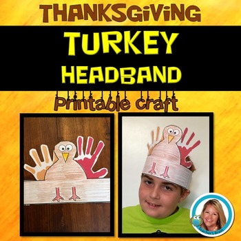 Thanksgiving Turkey Headband Craft